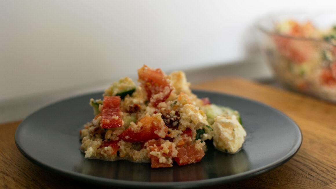 Couscoussalat – Perfekte Beilage zum Grillabend