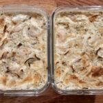 Zwiebel-Sahne-Hähnchen fertig