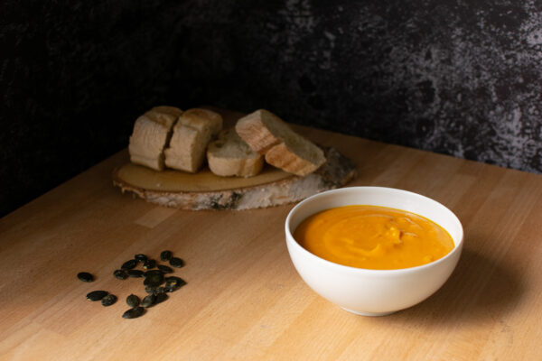 Es wird Herbst – endlich wieder Kürbissuppe