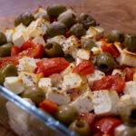 Cremiger Feta mit Tomaten